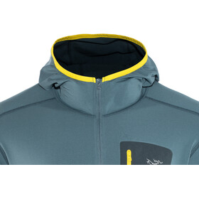 Arc'teryx Rho LT Hooded Zip Neck Men Neptune